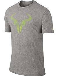 Nike Solid - Camiseta para hombre, tamaño XS, color negro/blanco