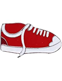 TBOP PIN THE BEST OF PLANET Simple And Stylish PIN For Unisex Jewelry Beautiful Cute Shoes Brooch In Red And White...