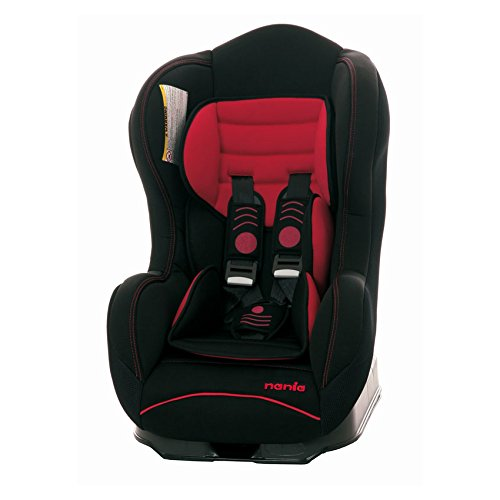 Nania 3507460827682 – Auto-Kindersitz Cosmo SP Limited Black Red