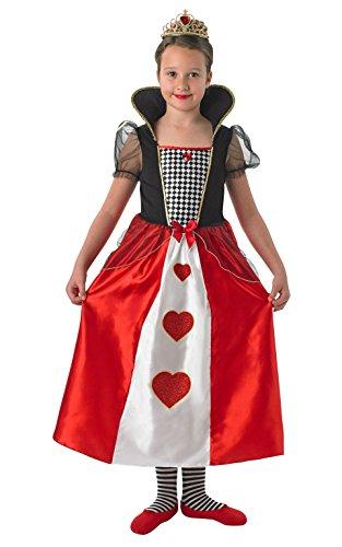 Rubie 's Offizielles Königin der Herzen Kostüm Mädchen X-Large (Der Herzen Kinder Kostüm Königin)