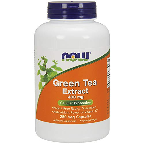 Now Foods, Grüner Tee Extrakt, 400 mg, 250 Kapseln