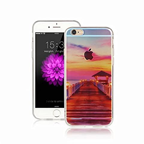 MUTOUREN iPhone 6/6S TPU case Soft Silicone Bumper Ultra Thin Slim Flexible Cover Case ,High Quality TPU protector-Pattern13