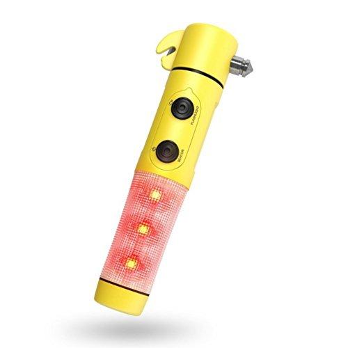 4 in 1 LED emergency flashing torch