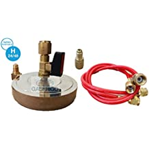 Sostenedor de la placa para el cilindro de gas refrigerante R410 R407C-R404A-R507