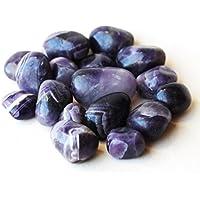 Reiki heilende Energie geladen (Set von 3) High Grade Amethyst Crystal Trommelstein (je ca. 2cm) preisvergleich bei billige-tabletten.eu