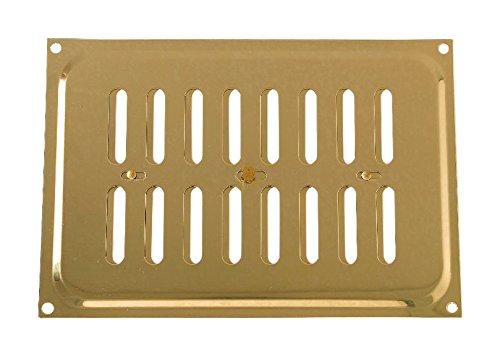 Bulk Hardware bh043519x 6Messing poliert Hit und Miss Vent