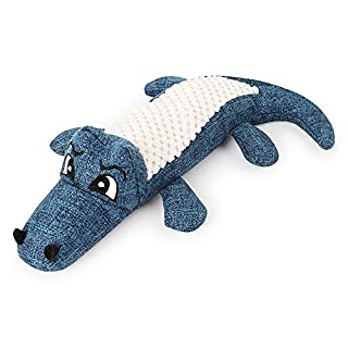 AUOKER Screaming Chicken, Squeek Toys Squawker Dog Toy Pet Chew Interactive Toys Great for Pet's Interactive Toy Puppy Funny Linen Crocodiles Plush Toys Perfect As A Gift for Your Pet