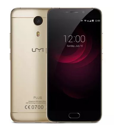 Umi Plus 5.5 inch 4G LTE Fingerprint Octa Core Dual