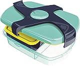 Brotbox Kids CONCEPT blau/türkis
