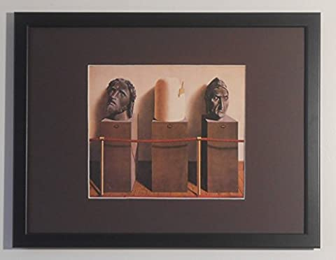 Mounted and Framed Eternity by Rene Magritte - 30cms x 40cms