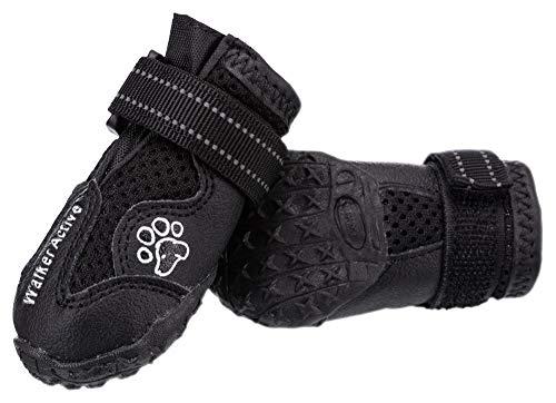 Trixie Walker Stivali Protettivi per Cane XS, Nero