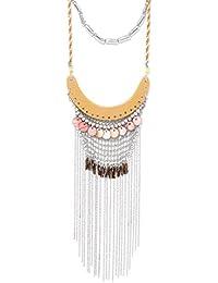 Tarbiya Kraft Fashion Boho Trendy Long Chains Multistrand Necklace For Women And Girls