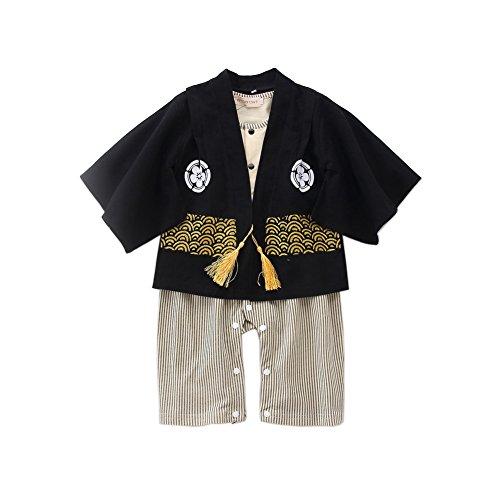 Kinder Kimono,Bmeigo Baby Romper Jumpsuit Druck Robe Bodysuit Outfit Kostüme Two Piece (Cute Easy Baby Kostüme)