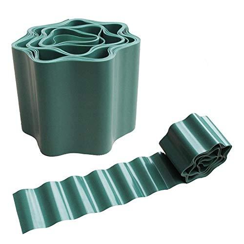 SUPERLOVE Recinto Protezione di Plastica Flessibile del Fiore del Bordo della Parete Dell'erba della Strada del Recinto Dell'erba di Giardinaggio del Giardino