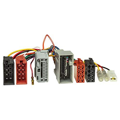 tomzz Audio 7317-001 T-Kabel ISO für Honda Accord,Jazz,Pilot ab 2008 zur Einspeisung von Freisprecheinrichtung ISO Verstärker für THB Parrot Dabendorf i-sotec Match