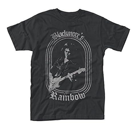 Ritchie Blackmores Rainbow Rock offiziell Männer T-Shirt Herren (Small)