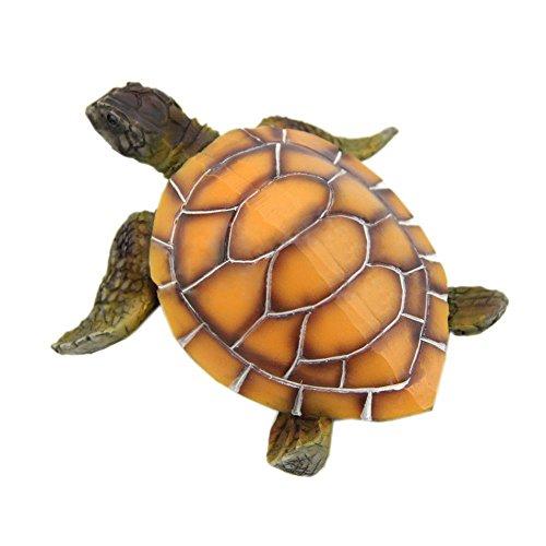 TOOGOO Ornamenti per acquari Decorazione Tartaruga artificiale per Fish Tank Man Made Resina Tortoise Paesaggistico Decorazione Acquario Accessori