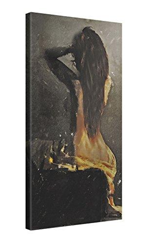 Gallery of Innovative Art - Galen Valle - Learning to go back - 50x100cm - Larga stampa su tela per decorazione murale - Immagine su tela su telaio in legno - Stampa su tela Giclée - Arazzo decorazione murale