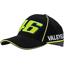 Valentino Rossi vr|46Gorra de béisbol Vale Yellow 46Snapback MotoGP Negro