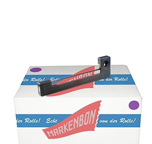 Farbbandkassette passend für Citizen IDP 3111 [schwarz] markenbon IR 91B (1 Karton mit 5 Stück)
