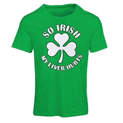 t-shirt-femme-st-paddys-day-sayings-shirts-so-irish-x-large-vert-multicolore