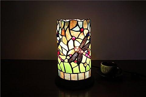 Shopping-5-Zoll-Libelle kreative handgemachte Glas Leuchter Lampe Tiffany-Lampe Schreibtischlampe Pen Hotel Bar-Nachtlicht