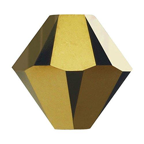 5328SWAROVSKI-6mm perline bicono xilion-Dorado, 2x (Swarovski Xilion Diamante)