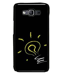 FUSON Designer Back Case Cover for Samsung Galaxy On5 (2015) :: Samsung Galaxy On 5 G500Fy (2015) (Burning Lamps Fire Crackers danger Flash)