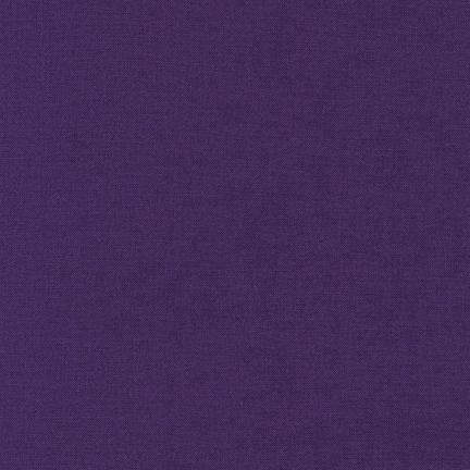 Baumwolle Stoff Meterware Kona violett -