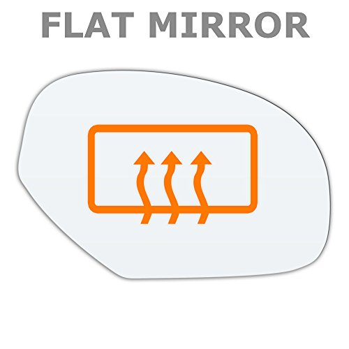 flat-mirror-glass-driver-side-heated-for-cadillac-escalade-2008-now-chevrolet-silverado-2008-2013-ch
