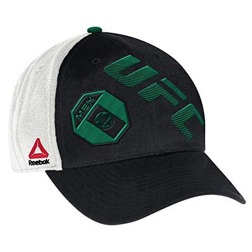 Cap Sleeve Shirt Öse (UFC Herren Mexiko Flex Hat, Large/XL, Schwarz)