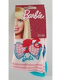 1 paire de Chaussettes Barbie Taille 27/30 ( 4 - 6 ans)