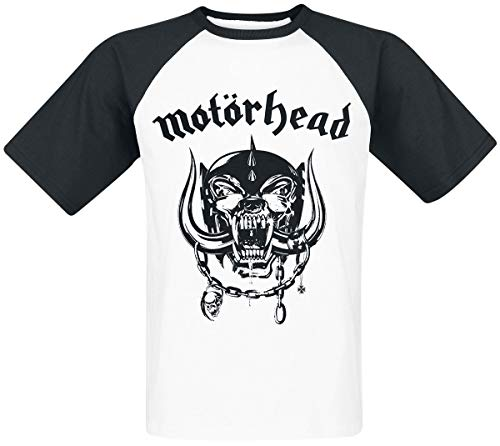 Motörhead Everything Louder Camiseta blanco-negro XXL