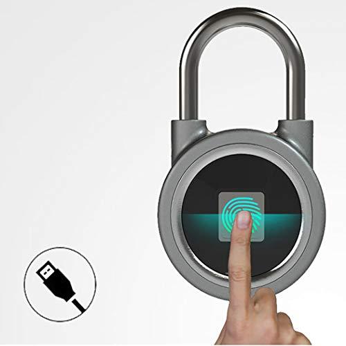 AIBOTY Huella Digital Candado WiFi APLICACIÓN Control Cerradura sin L