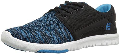 Etnies Scout Yb W's, Chaussures de Skateboard Femme Schwarz (587 , Black/Blue)