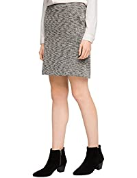 ESPRIT Damen Rock 036ee1d013-mit Struktur