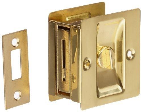 Rockwood 131.3 Brass Surface Mounted Cast Door Pull 7-1//2 Length Polished Clear Coated Finish