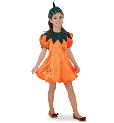 Kinderkostüm Kürbis Garten Gewächse Gemüse Squash Pumpkin Halloween Karneval Fasching Gr ()