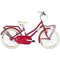 "Alpina Bike Olandesina 20"", Bicicletta Unisex Bambini, Rosso, 1v"