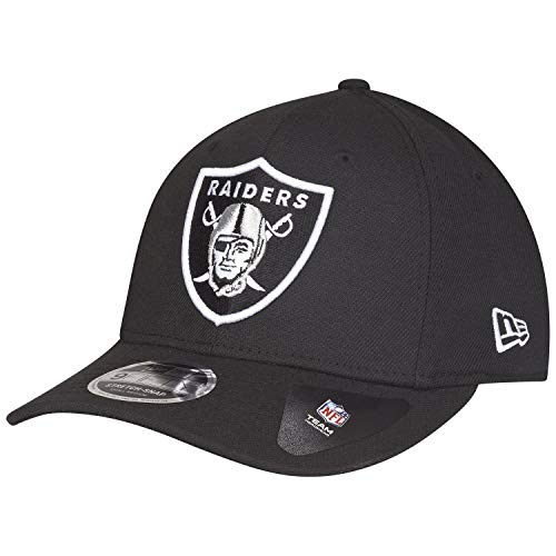dba31d4cd100f New Era Oakland Raiders 9fifty Stretch Snapback cap Classic Black - S-M