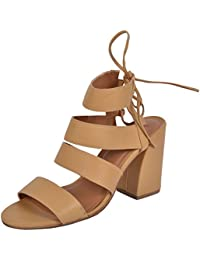 Red Tape Women's Leather Fashion Sandals