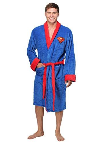 DC Superman Fleece Robe (Roben Superman)