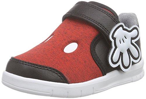 adidas Baby Jungen Disney M&M Lauflernschuhe, Rot (Vivid Red S13/Eqt Yellow S16/Core Black), 27 (Minnie Schuhe Maus Kleinkind)