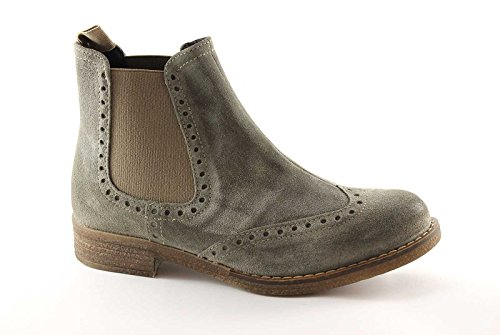 PREGUNTA 22000 taupe scarpe donna stivaletti beatles 41