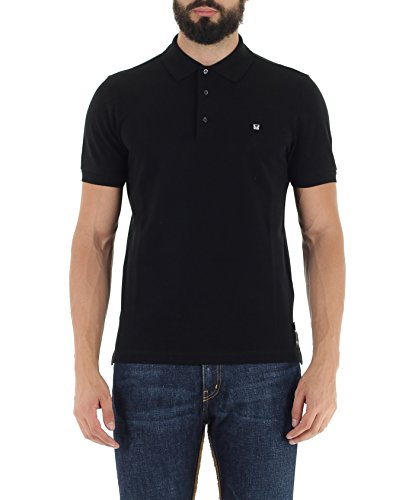 FENDI - Herren Polo BUG (FY0707 1LW) - schwarz, X-Mainly (IT/FR : 52)