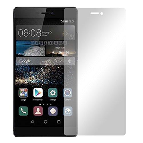 Slabo 4 x Bildschirmschutzfolie Huawei P8 Max Bildschirmschutz Schutzfolie Folie Crystal Clear unsichtbar Made IN Germany