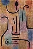 Leinwandbild Erz-Engel von Paul Klee, 30 x 45cm, Motiv bis an die Kanten, Kunstdruck, Poster, Malerei, abstrakte Malerei, Farbfelder, Linien, Ornamente, Klassische Moderne, Sch.., hochwertige Fertigung - Art Galerie Shop