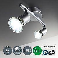 B.K.Licht 30-01-02-T - Lampada - illuminazione a soffitto, Ceiling lighting, 3 watts, [Classe di efficienza energetica A+]
