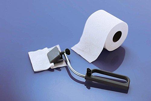 Toilettenpapierzange Toiletten Abwischhilfe Reinigungshilfe WC Papier Toilettenpapier Vaginalreinigung Afterreiniger Mobile Bidet