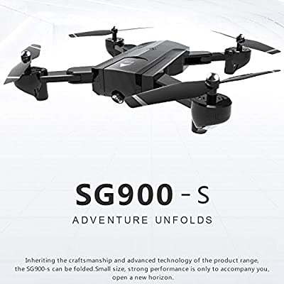 TOOGOO SG900-S Foldable Quadcopter 2.4GHz HD Drone Quadcopter WIFI FPV Drones GPS Fixed Point Rc Helicopter Drone With Camera, 1080P